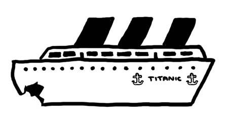 Watch more like Titanic Clip Art.