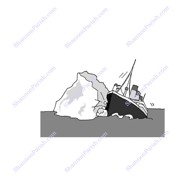 Gallery For > Titanic Cartoons Clipart.