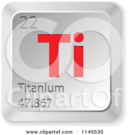 Titanium Element Clipart.