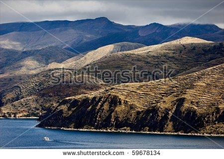Bolivia Titicaca Stock Photos, Royalty.