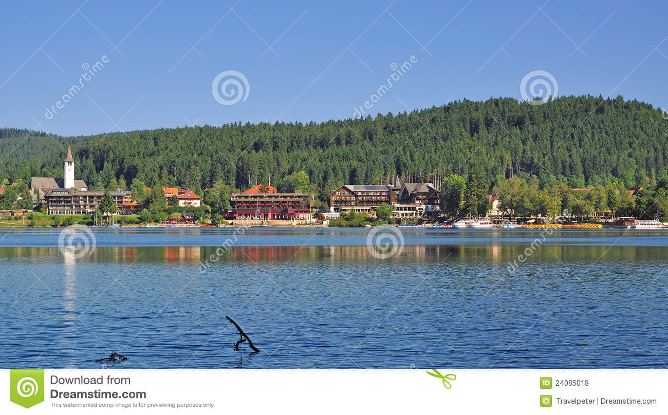Lake Titisee,Black Forest,Germany Royalty Free Stock Photos.