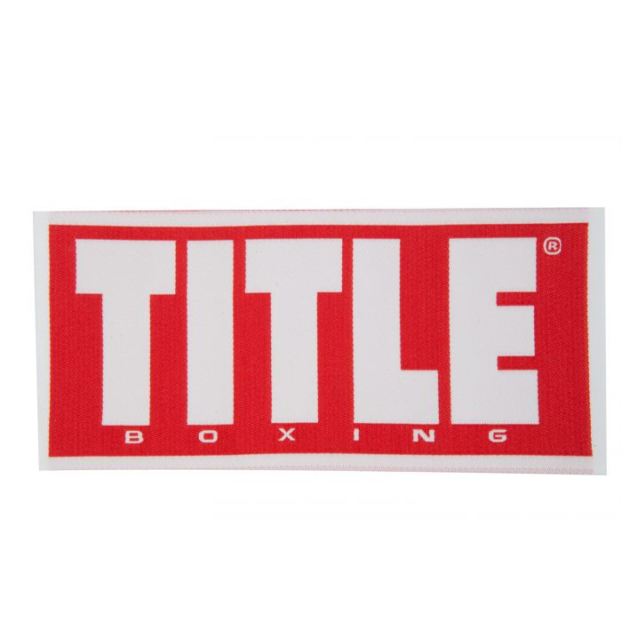 TITLE Boxing Woven Standard Label.