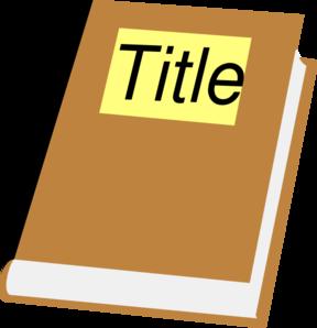 Title Clip Art.