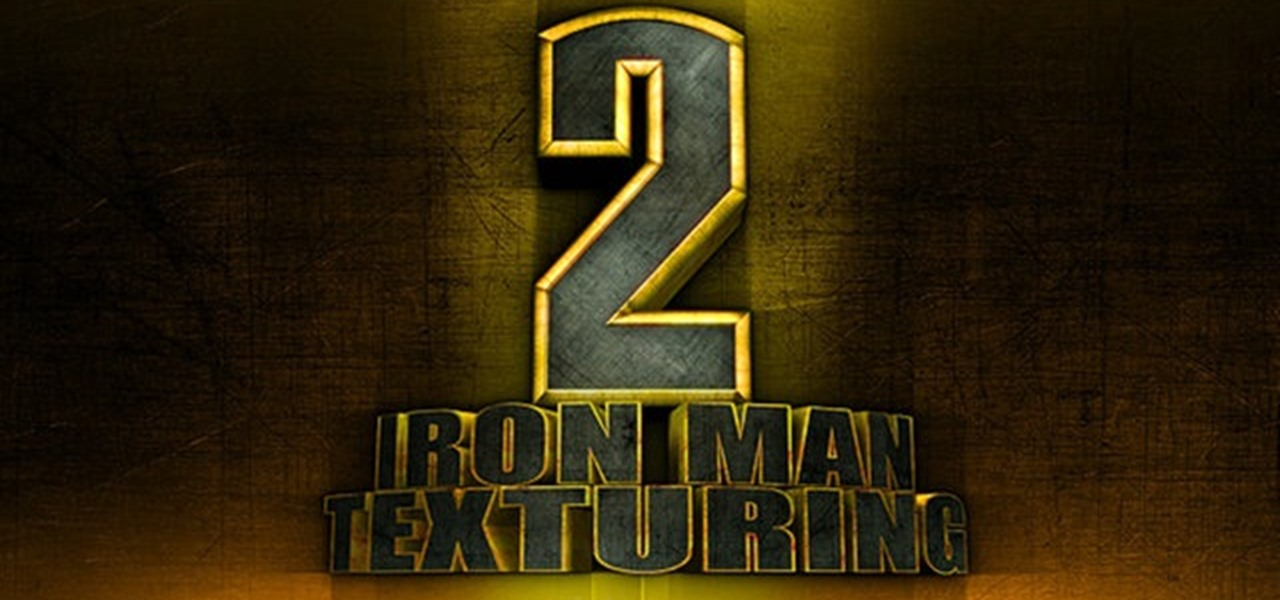 How to Recreate the Iron Man 2 title logo in Adobe Photoshop.