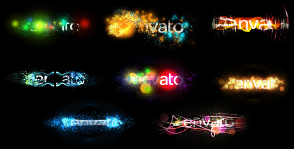 Holiday Particles (Title/Logo Pack).