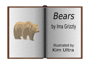 Book Title Clipart.