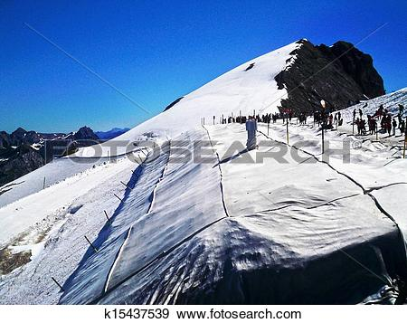 Stock Photograph of Mount Titlis k15437539.
