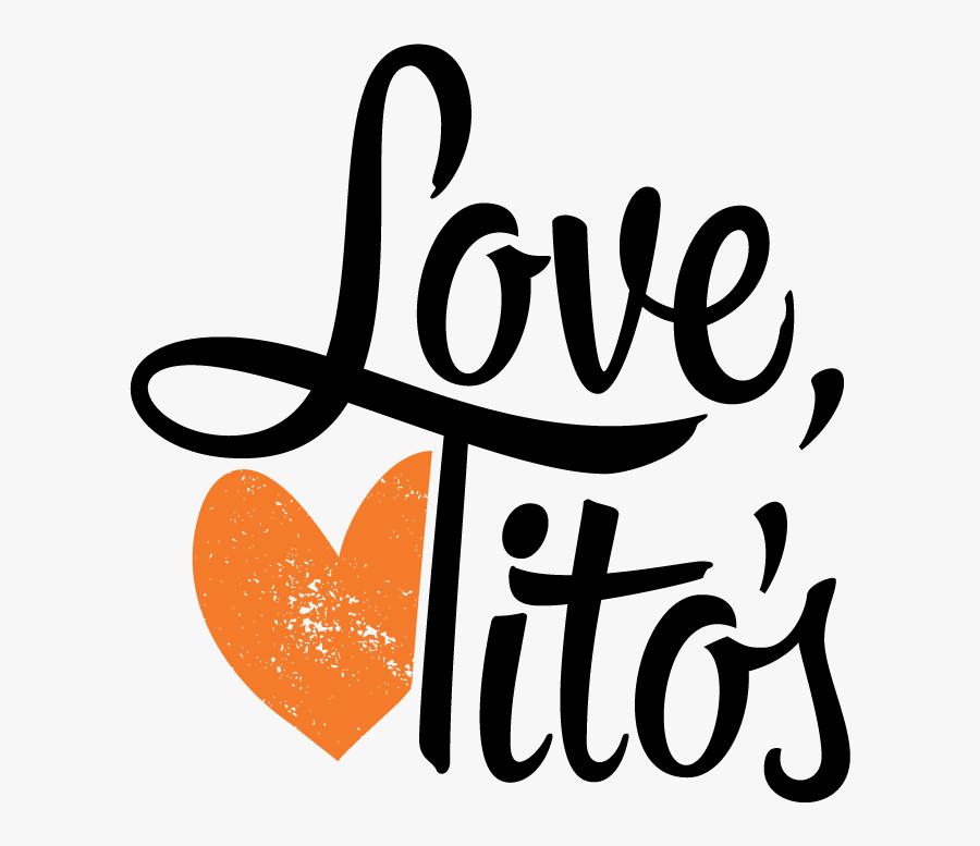 Tito\'s Handmade Vodka Font , Free Transparent Clipart.