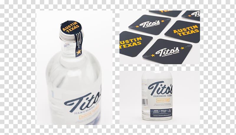 Tito\\\'s Vodka Bottle Distillation Drink, vodka transparent.