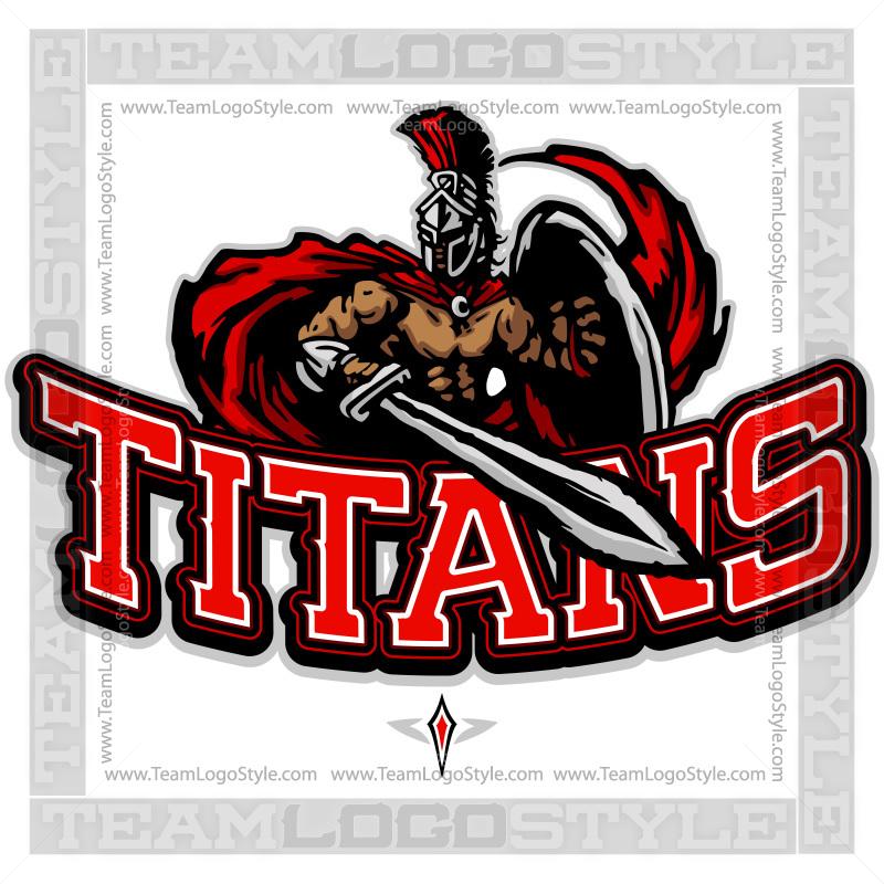 Titans Team Logo.