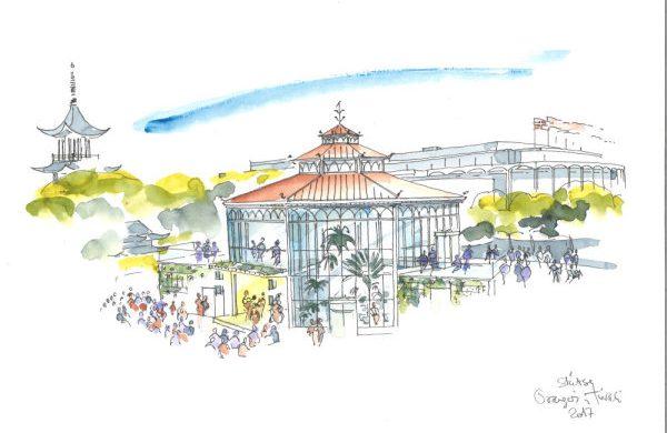 Orangeriet, New $2.8 M Concert venue for Tivoli Gardens.