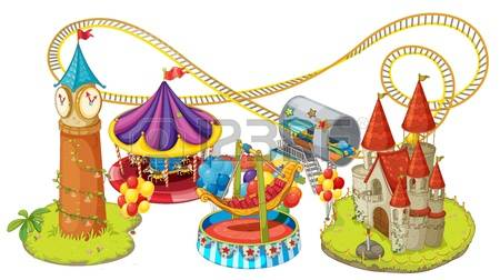 2,965 Theme Park Cliparts, Stock Vector And Royalty Free Theme.
