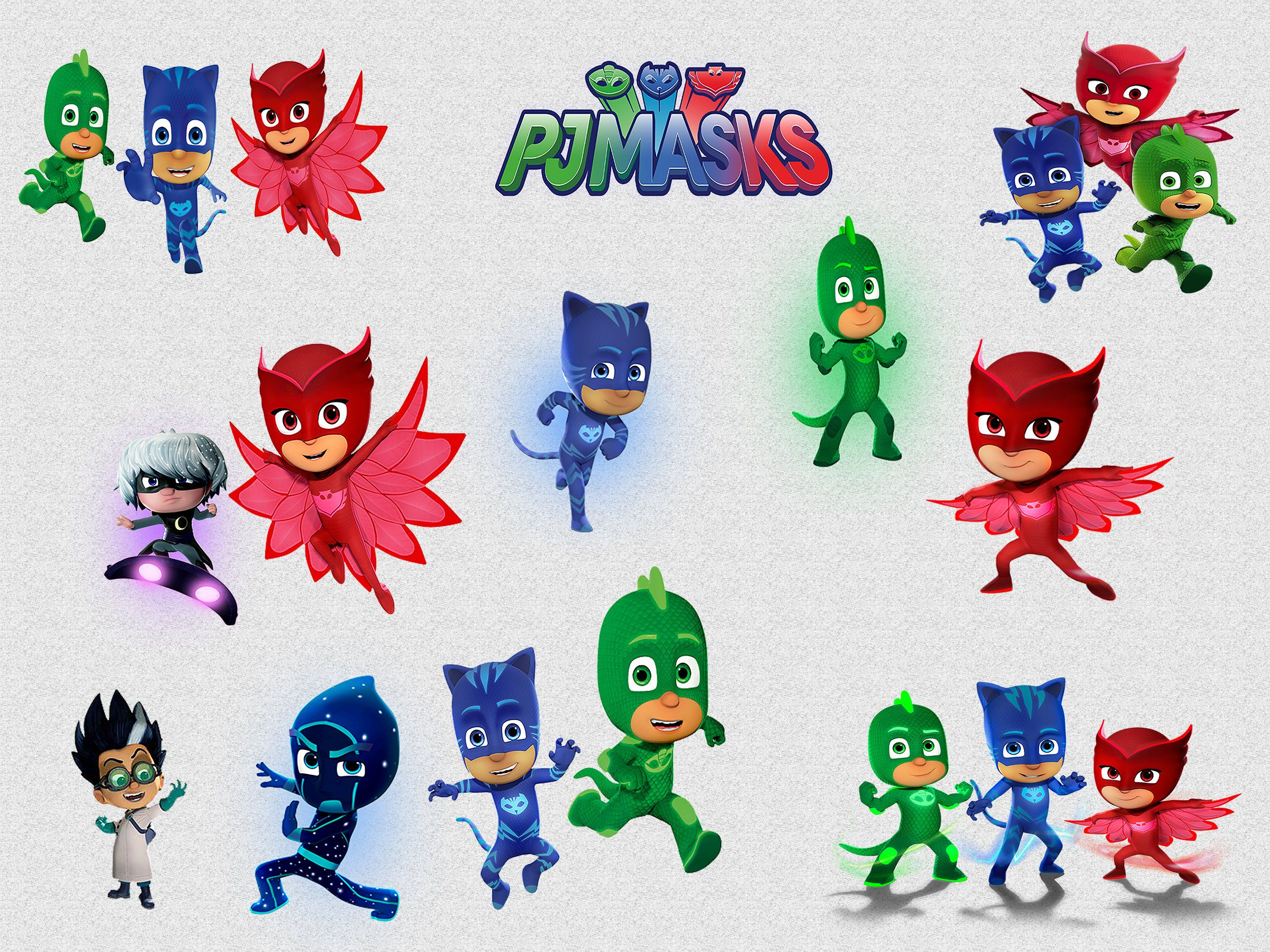 PJ MASKS CLIPART, 21 High Quality Png Images with.