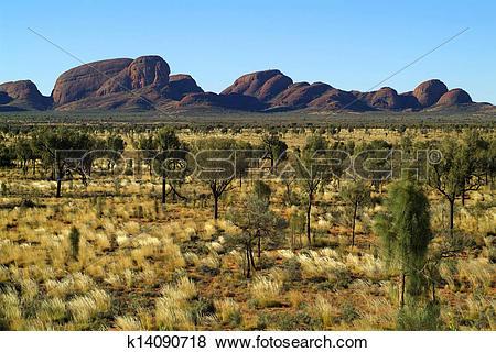 Pictures of Australia, Kata Tjuta.