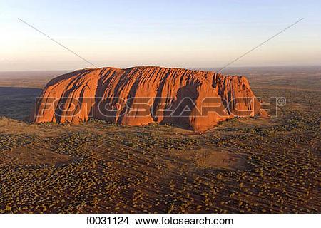 Stock Photo of Australia, Northern Territory, Uluru.