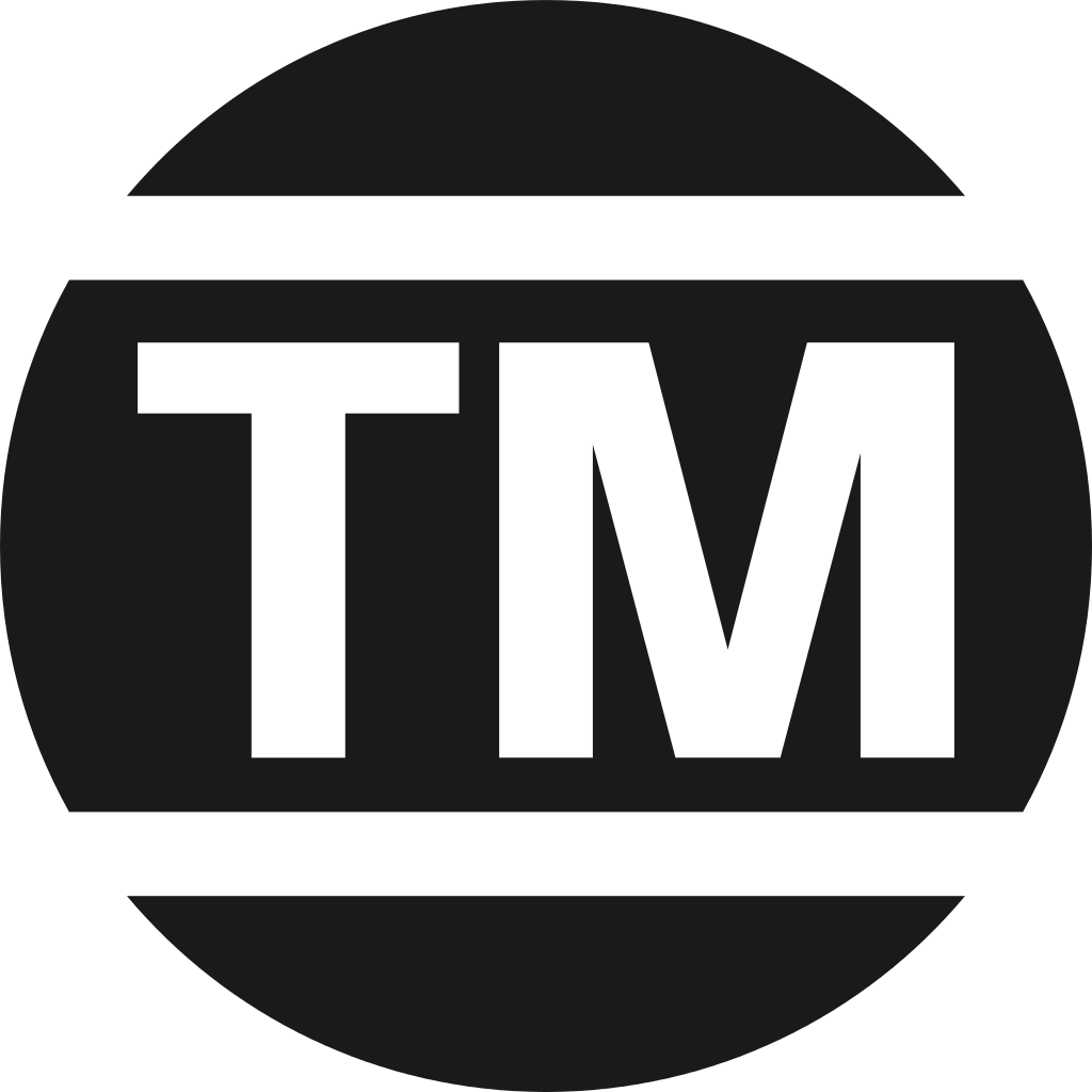 Trademark TM Symbol PNG Transparent Images.