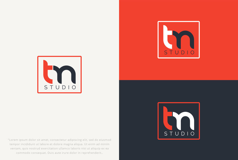 Entry #10 by MHYproduction for Logo for Tm Studio.