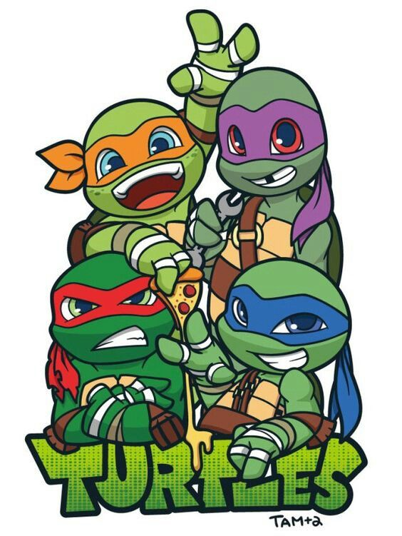 Teenage Mutant Ninja Turtles Clipart.