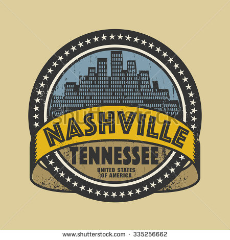 Grunge Rubber Stamp Name Tennessee Nashville Stock Vector 98121770.