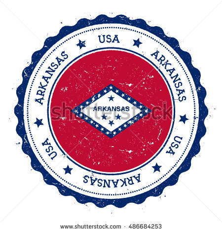Flag Of Arkansas Stock Photos, Royalty.
