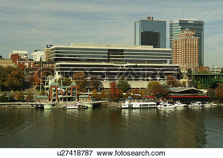 Picture of Knoxville, TN, Tennessee, Downtown Skyline, Tennessee.