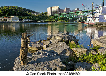 Pictures of Bridge over the Tennessee River in Knoxville.