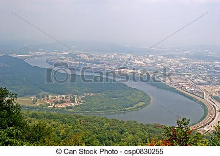 Stock Images of Tennessee River.