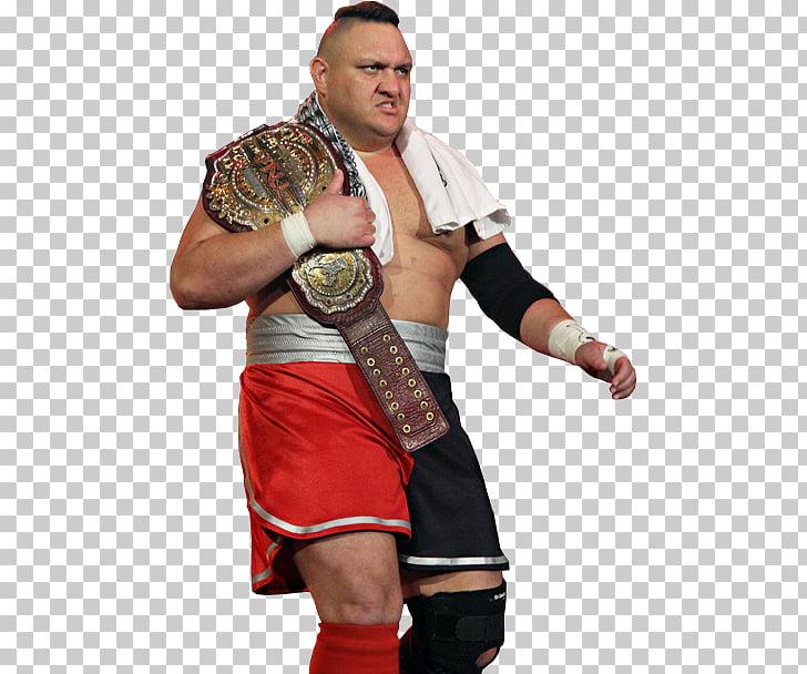 Samoa Joe TNA Television Championship Impact World.