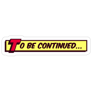 To Be Continued PNG Transparent {Arrow sign}!!.