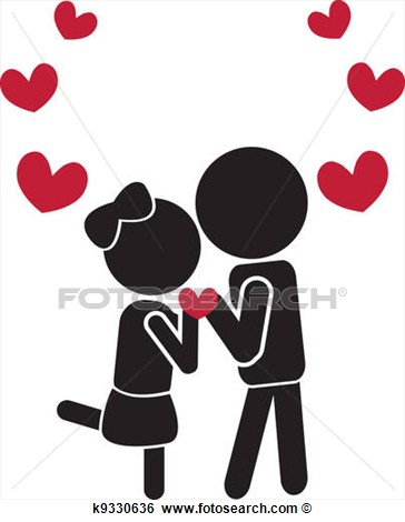 Couple in love clipart 6 » Clipart Station.