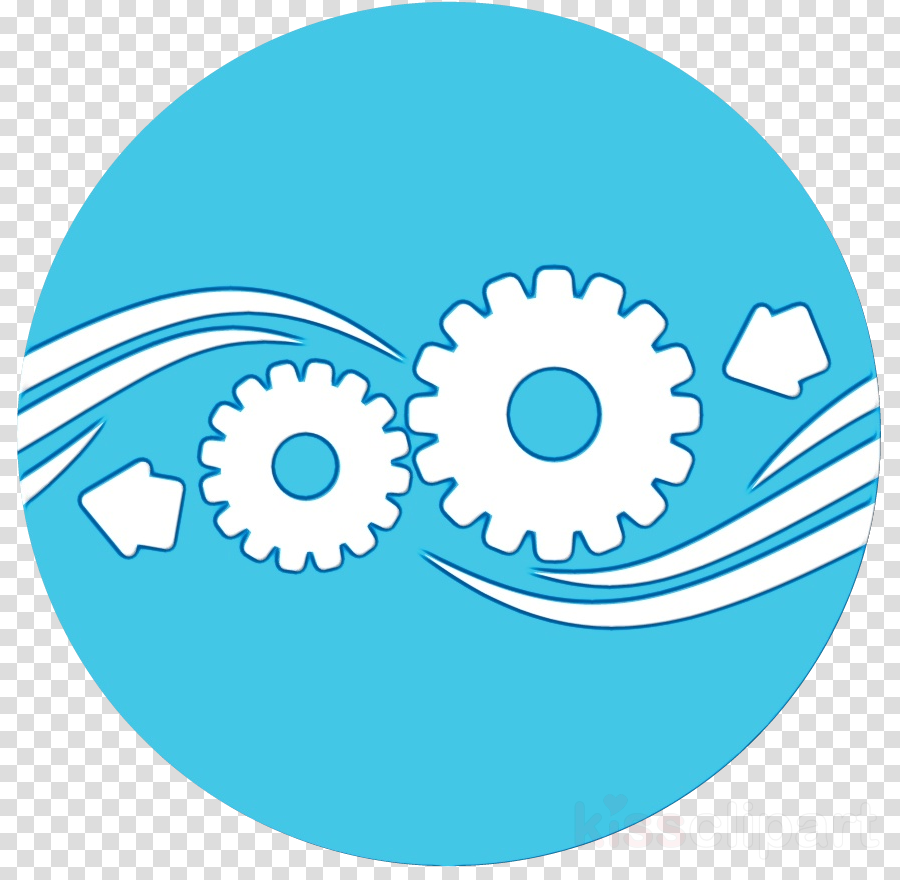 aqua circle auto part gear clip art clipart.