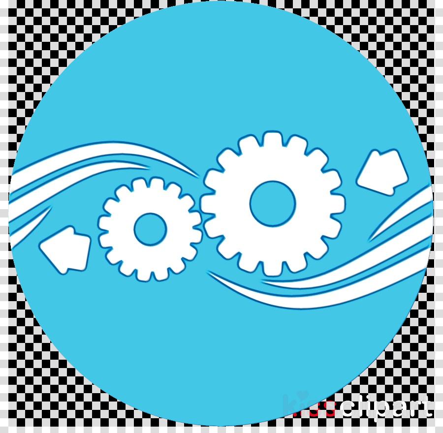 aqua circle auto part gear clip art clipart.