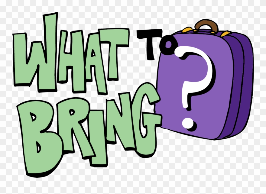 what to bring clipart #7