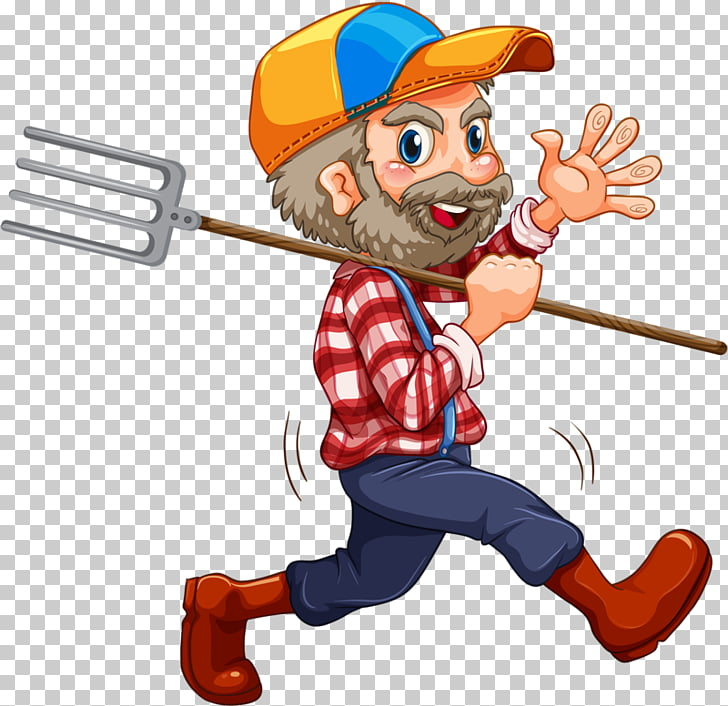 Lumberjack , Carry fork uncle PNG clipart.