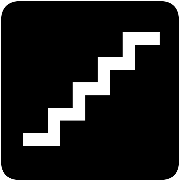 Ascending Stairs Clip Art at Clker.com.