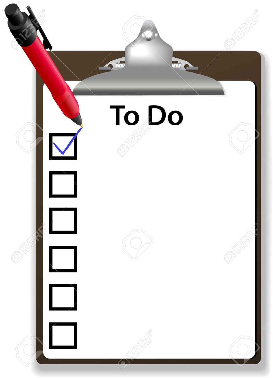 To do list clipart 3 » Clipart Station.
