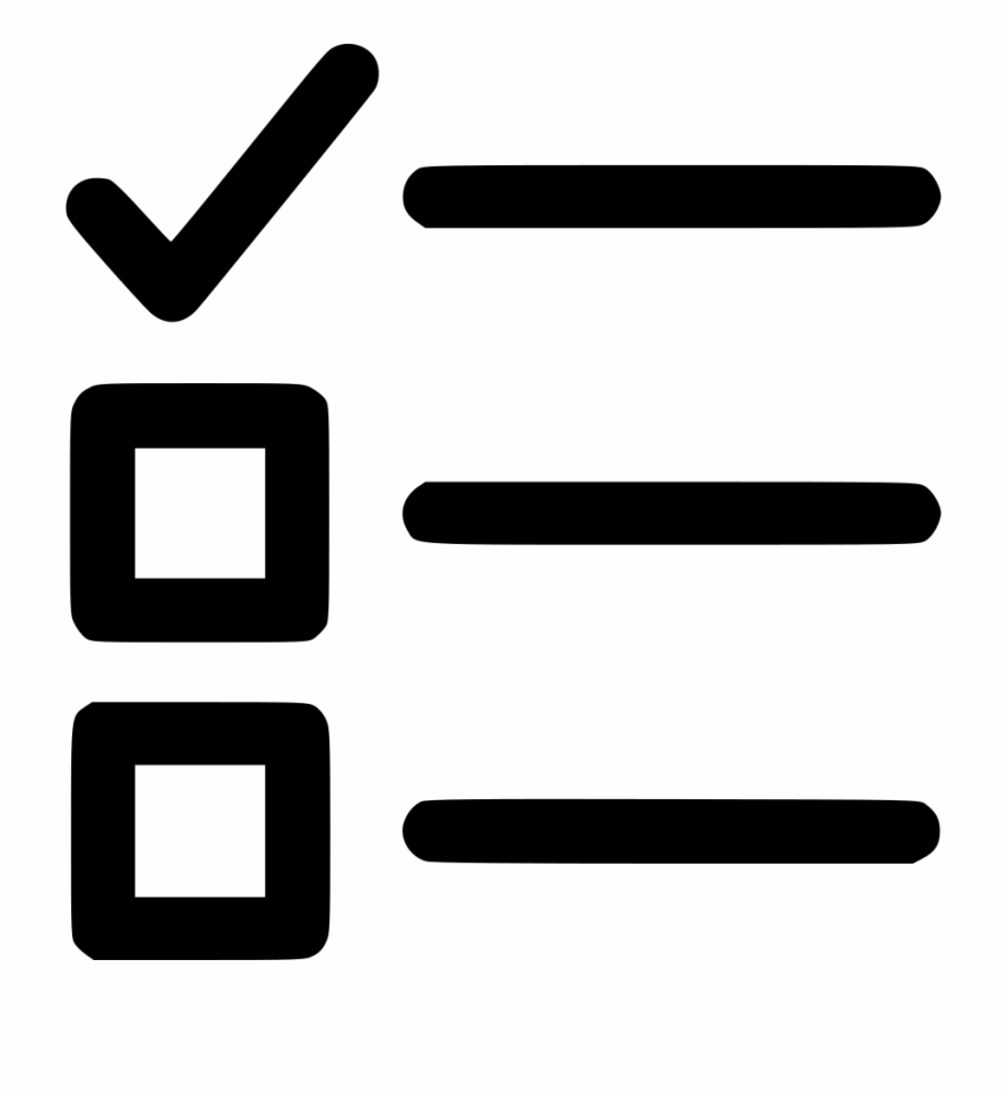 Checkbox List To Do Svg Png Icon Free Download.