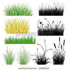 grass border clip art.