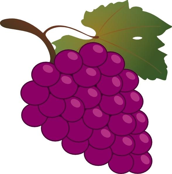 Clip Art Grapes.