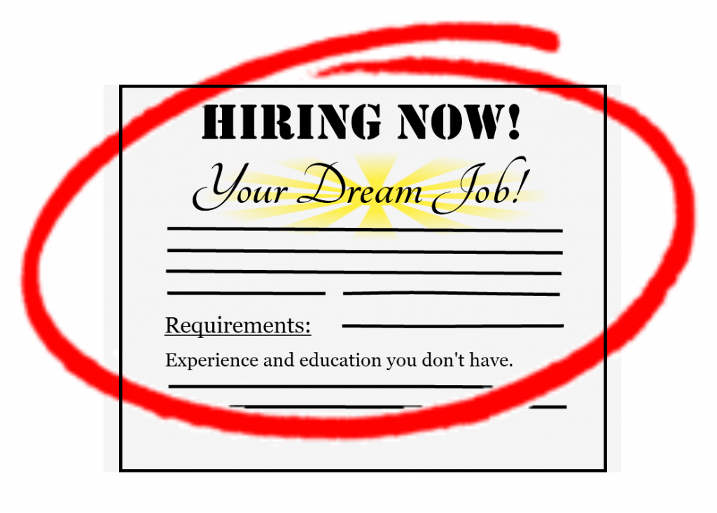 1 Huge mistake people make when trying to get their dream job.