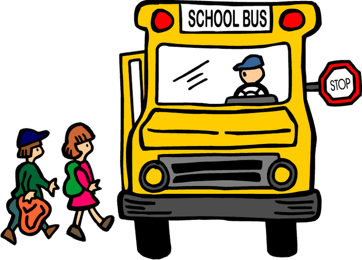 Leave For School Clipart.