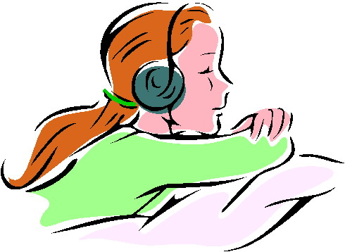 Clip Art Listening To Ipod Clipart.