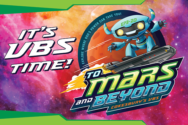 An exciting new adventure for VBS in 2019 with To Mars and.