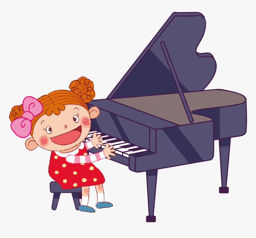 Transparent Piano Clipart Png.