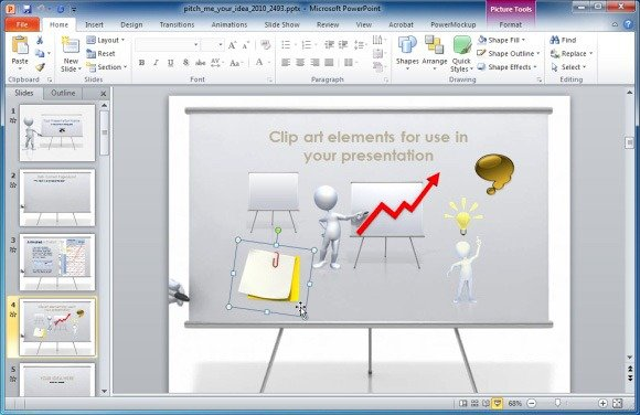 Present Your Ideas With Pitch An Idea Animated PowerPoint.