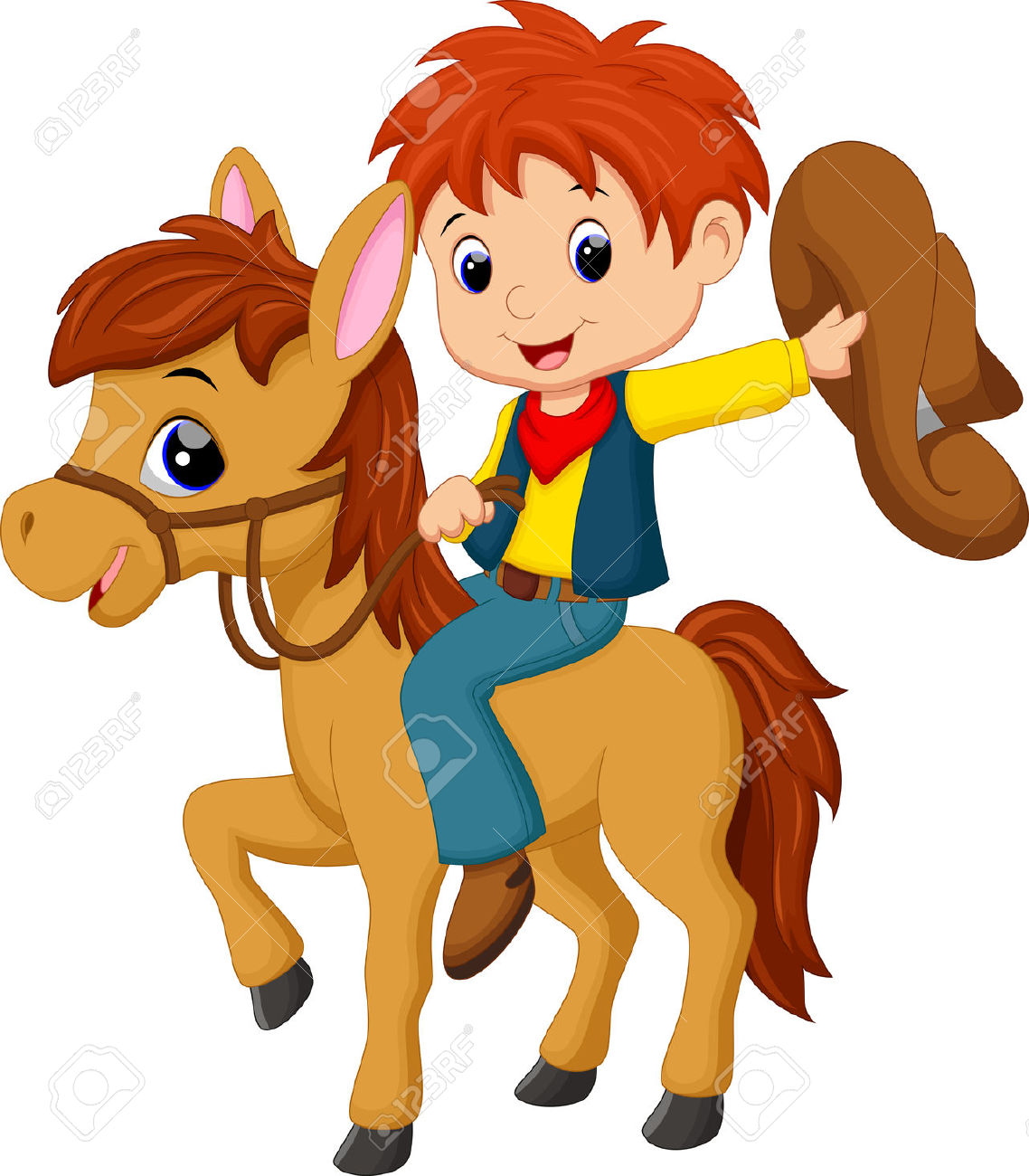 to ride a horse clipart - Clipground