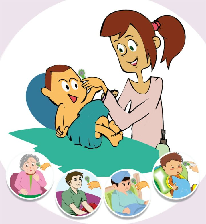 One Of The Best Ways To Tell If We Have A Fever PNG Clipart.