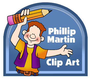 Free Web Buttons Clip Art by Phillip Martin.
