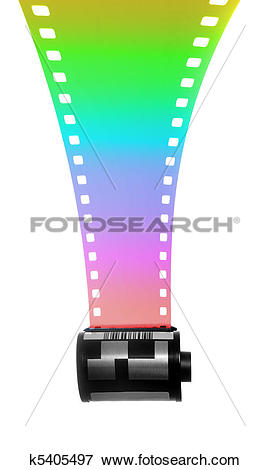 Picture of 35mm Filmstrip for color Photography k5405497.