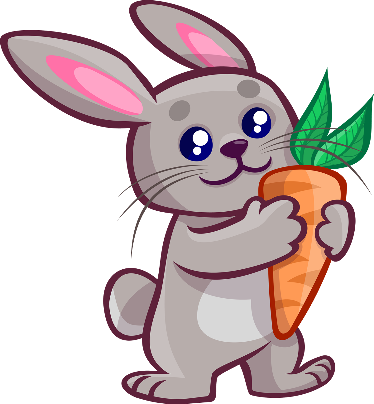 Rabbit free to use clip art.